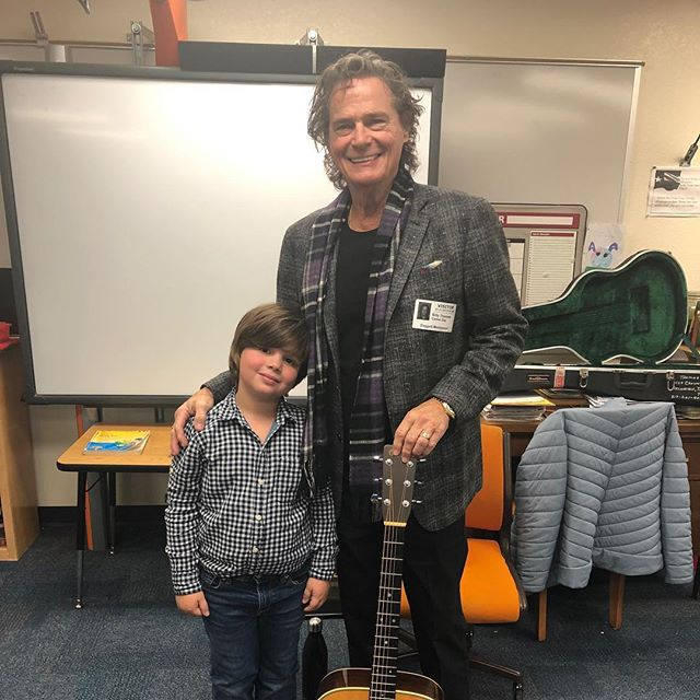 Career Day. Me and Billy Joe. Had a blast!