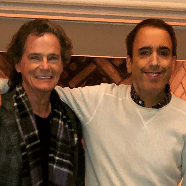 My brother Jim Pierson. Jim is the guy behind all the great specials on Aretha, Dionne, Bacharach, Nat King Cole, etc, for PBS.Jim is responsible for most of the great things that come my way. Many other artists can say the same thing. Have a lot of gratitude for this guy.
