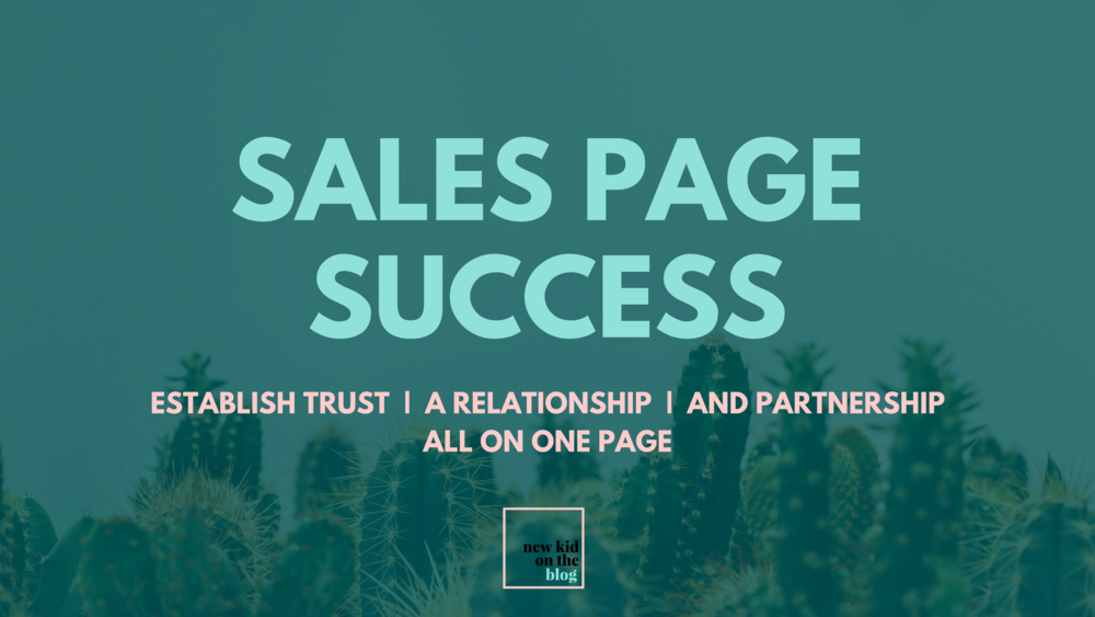 Sales Page Success eCourse