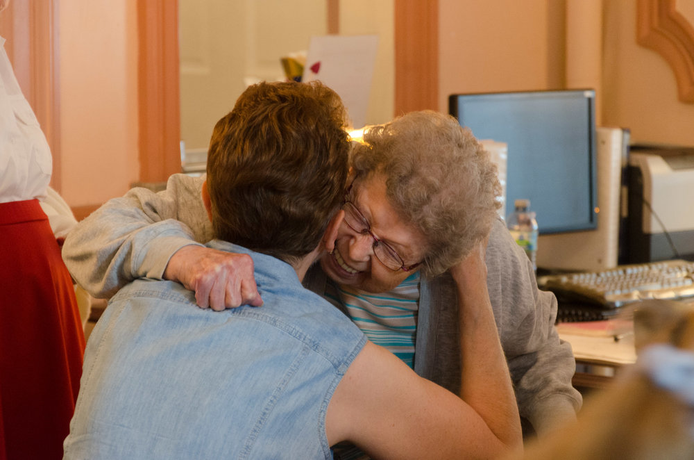 Riverview's volunteers bring a smile to our residents' faces!