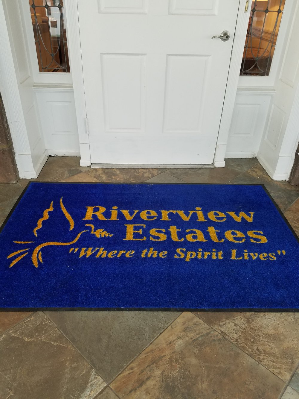 Riverview Estates welcome mats