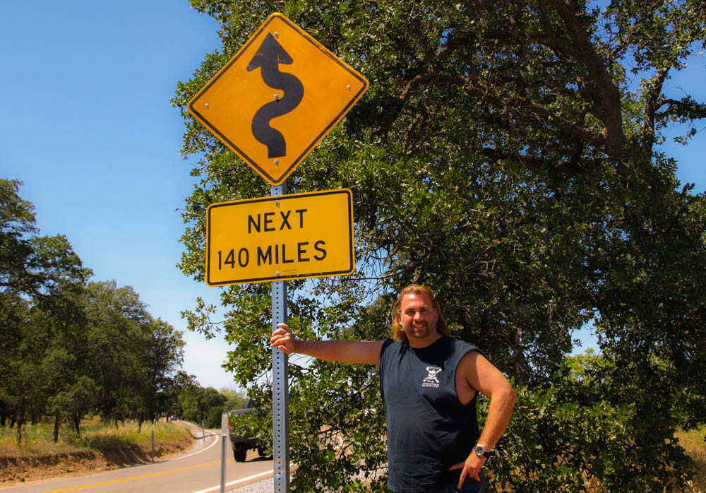 140 miles of winding road? I'm in! In California.