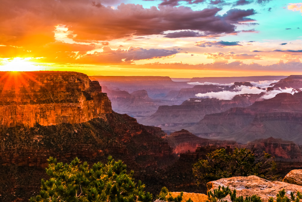 Grand Canyon Sunset, AZ