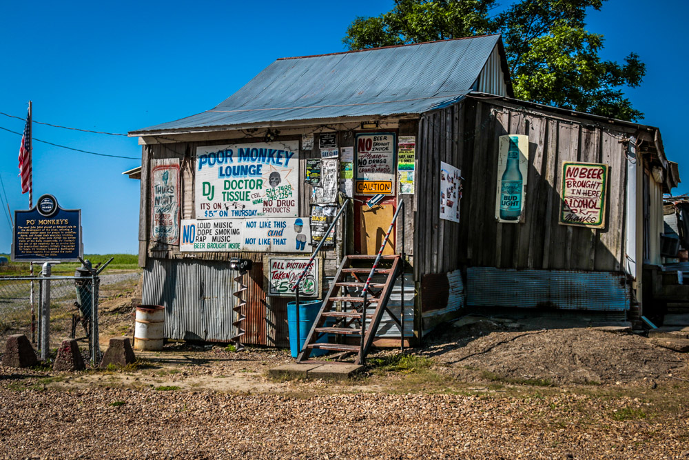 Po' Monkey's Juke Joint, Cleveland, MS