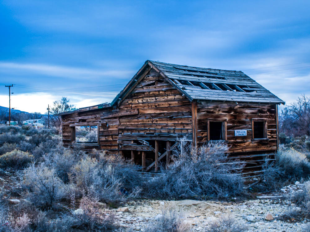 Lonely Cabin, Baker, Nevada