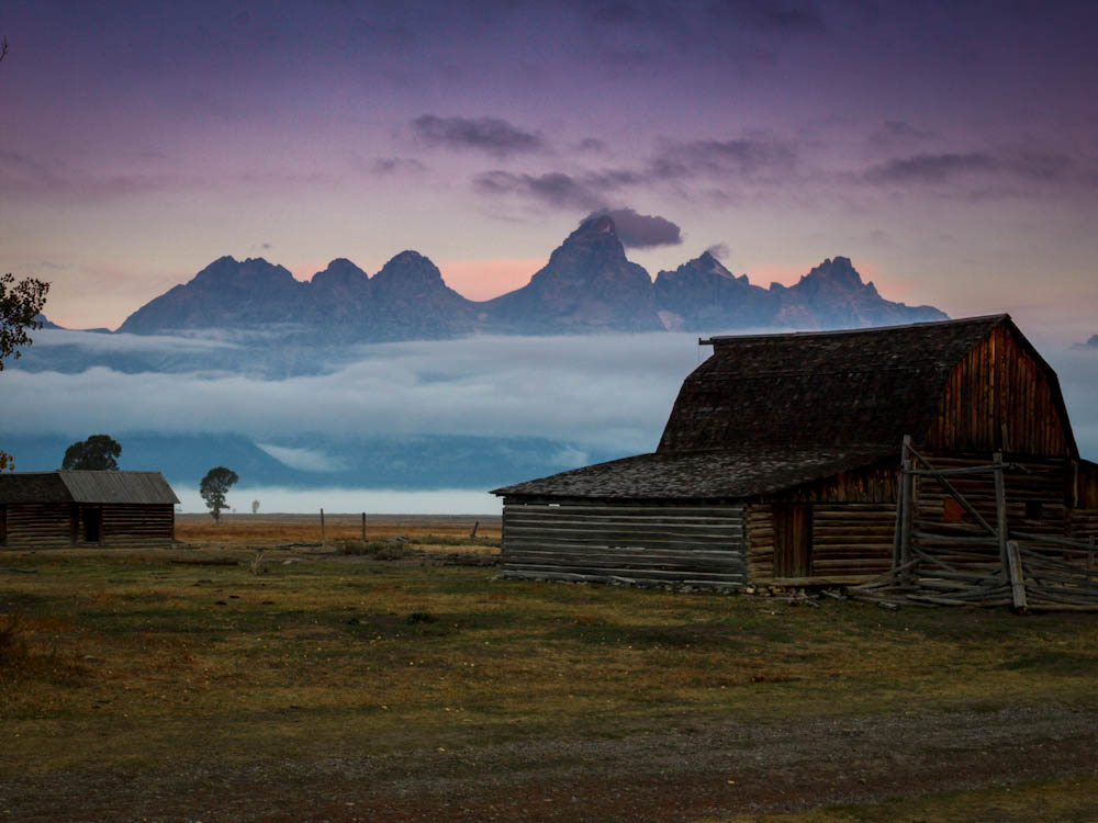 Mormon Row, Grand Teton Nat'l Park, WY