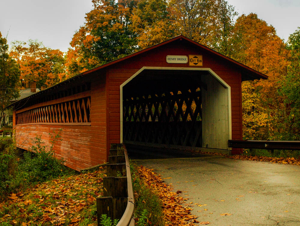 New England Covered Bridge, NH