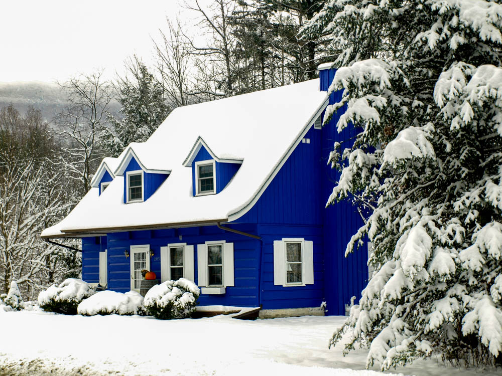 Blue House, Stowe, VT