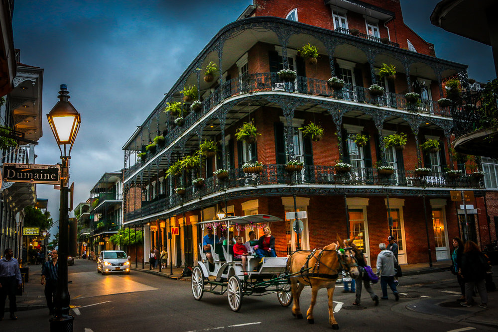 New Orleans' French Quarter, my second home.