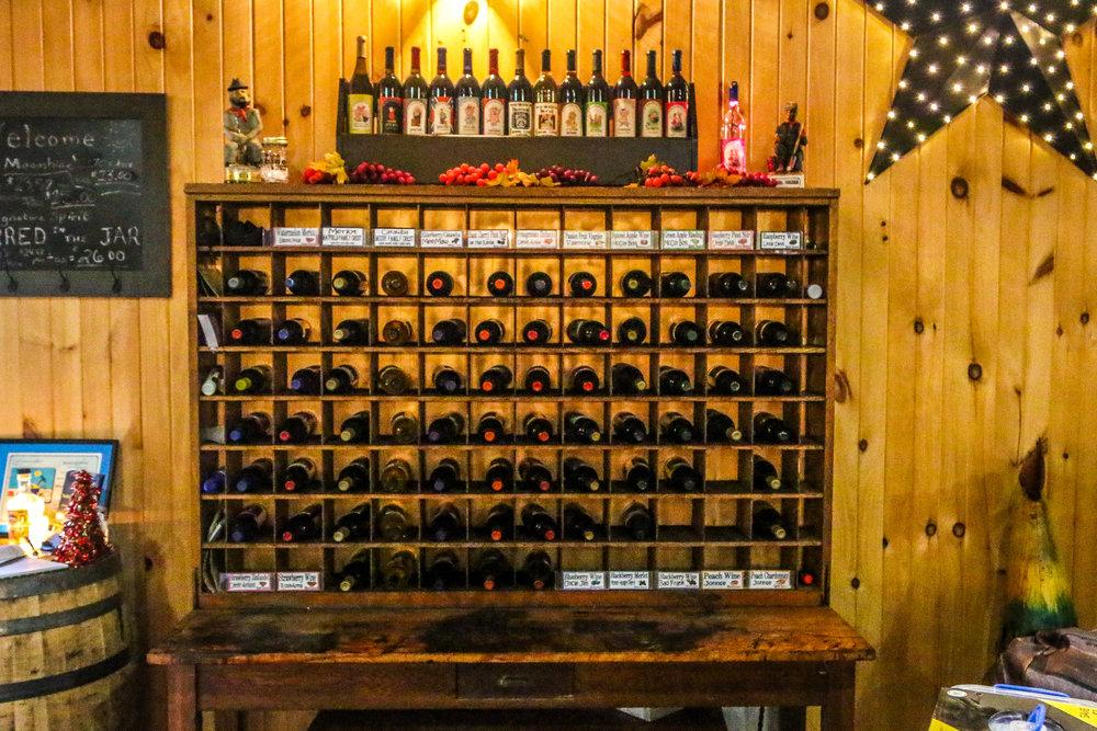 Wine in a Repurposed Post Box