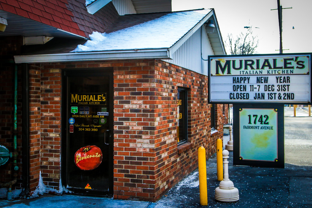 Muriale's Exterior - Nothing Fancy