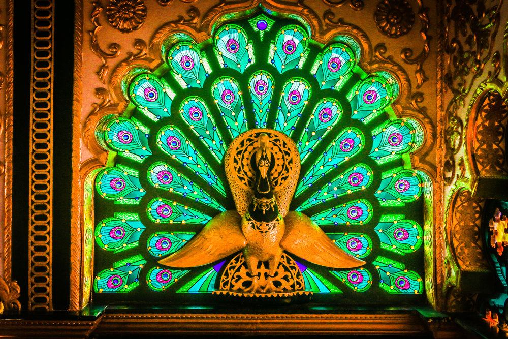 Stained Glass in the Palace of Gold, Moundsville