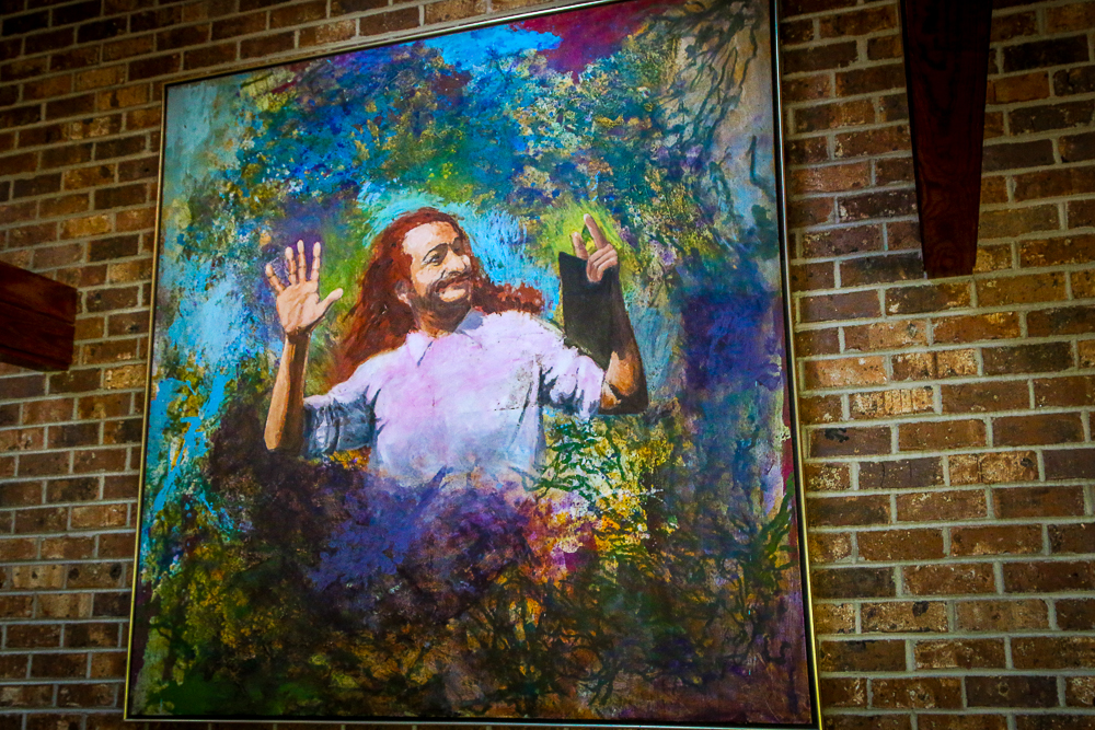 A Painting of Meher Baba