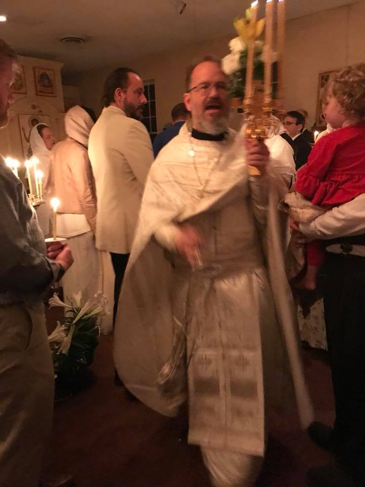 St. John's Priest in his Vestments