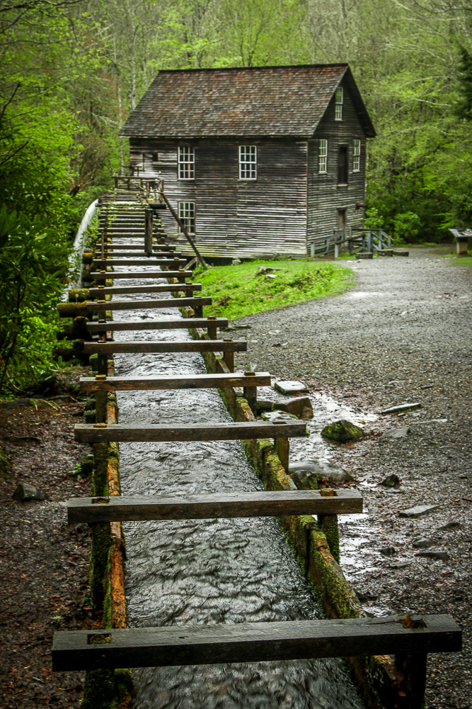 Mingus Mill in Great Smoky Mountain National Park