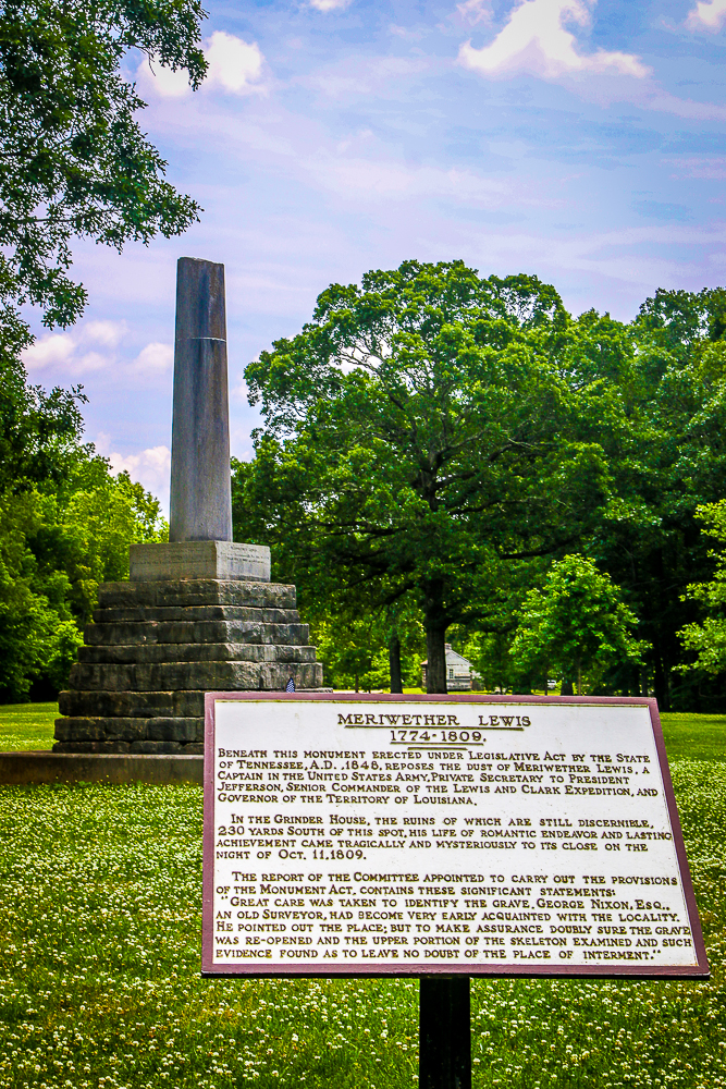 Meriwether Lewis Memorial