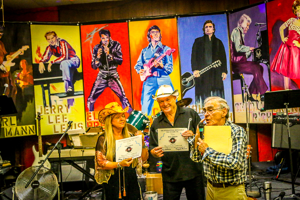 Eric and Ellie Layton Getting Inducted into the Rockabilly Hall of Fame