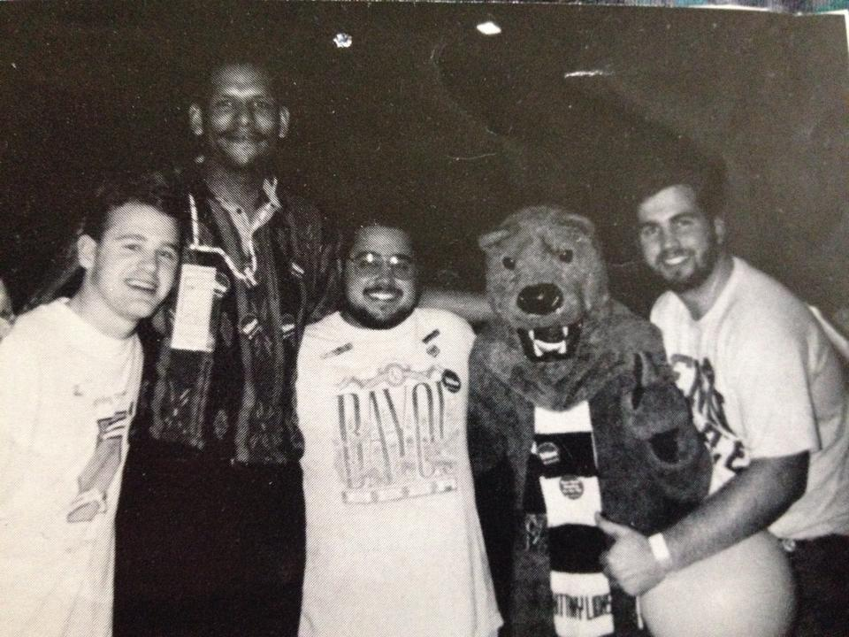 THON with the John Amaechi and the Nittany Lion