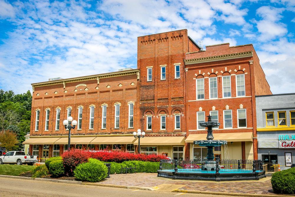 Stuart's Opera House Nelsonville