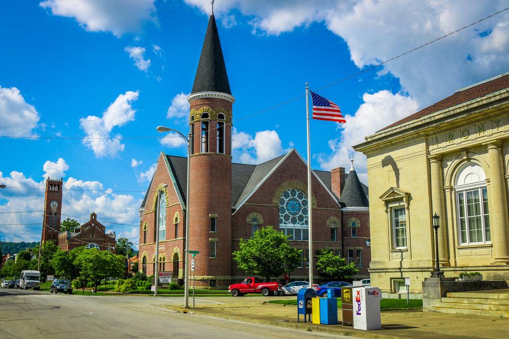 church school ironton ohio old
