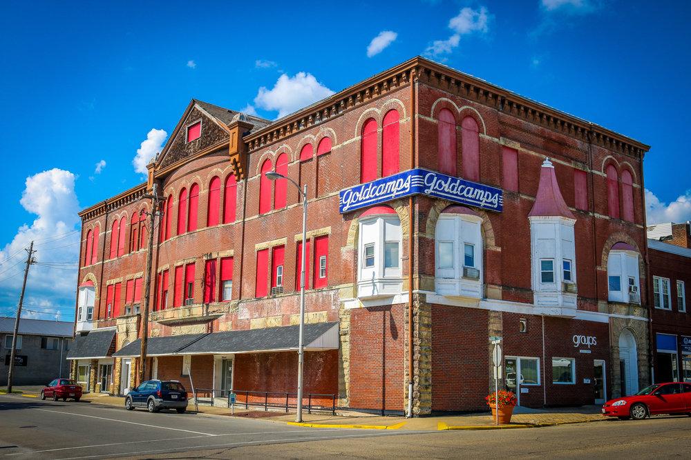 industrial building ironton ohio