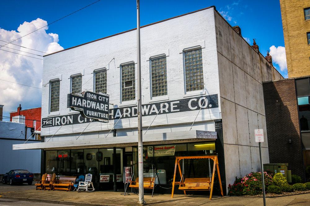 Ironton's Old Hardware Store