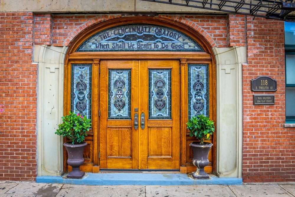 cincinnati door ohio oratory when shall we begin to do good