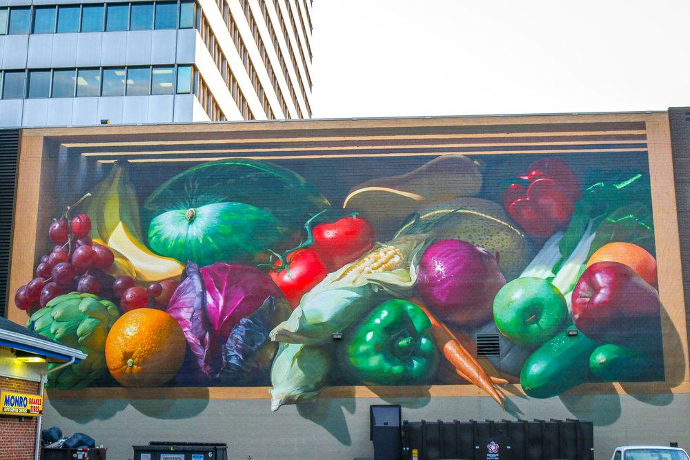 fruits and veggies mural cincinnati ohio