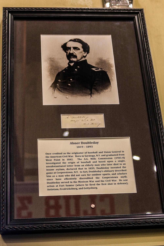 Abner Doubleday's Signature