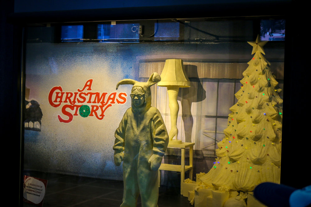 ohio state fair columbus 2018 photos christmas story butter