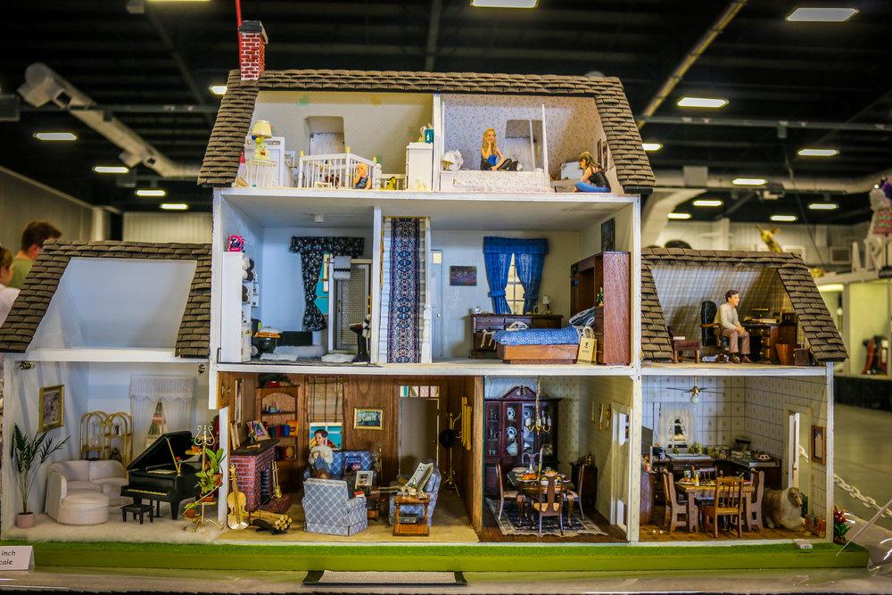 ohio state fair columbus 2018 photos doll house