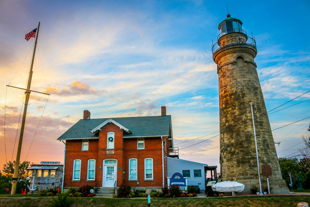 Fairpoint Harbor Lighthouse