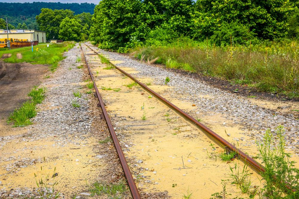 Railroad Tracks Through Dillonvale
