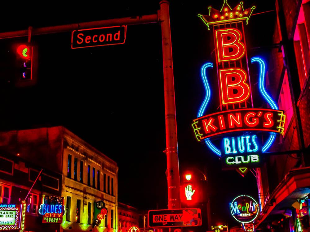 B.B. King's in Memphis