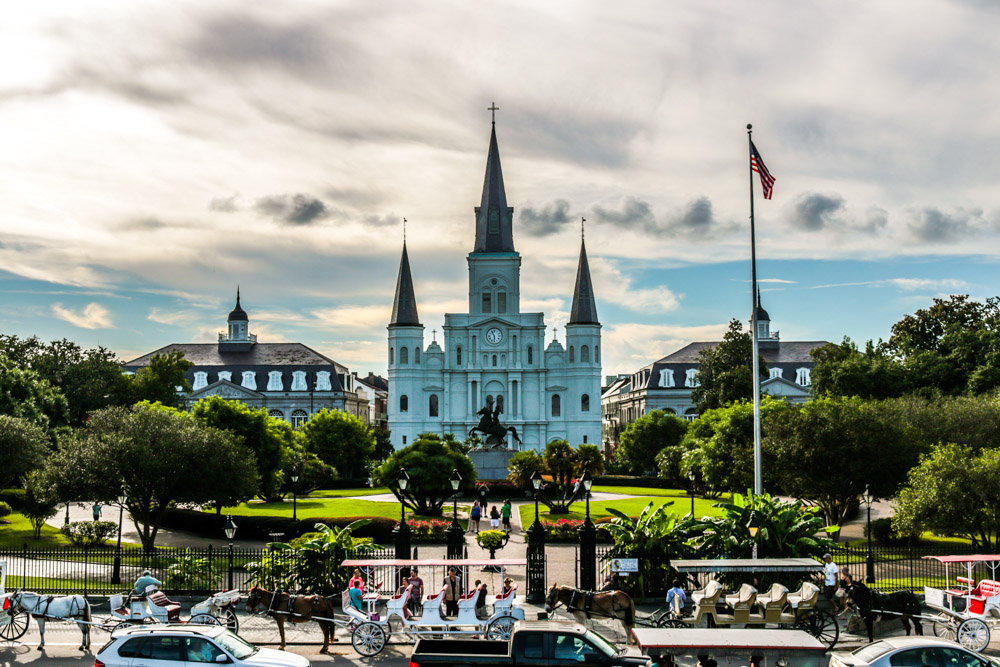 Jackson Square in New Orleans