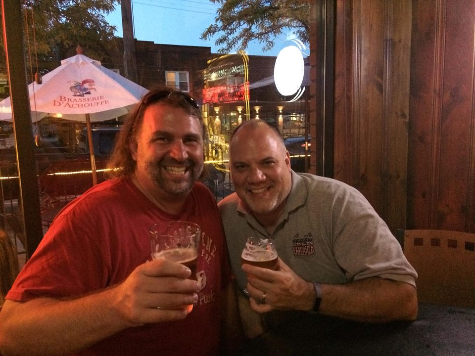 Me and My Old Pal Mike Vasko