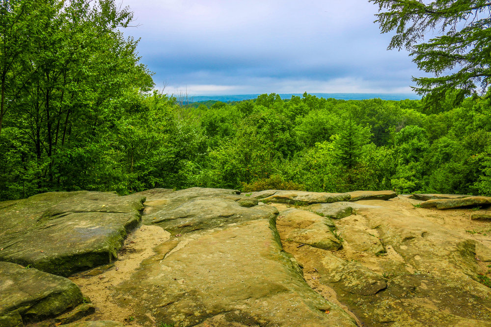 cuyahoga valley national park ohio oh nps ledges overlook