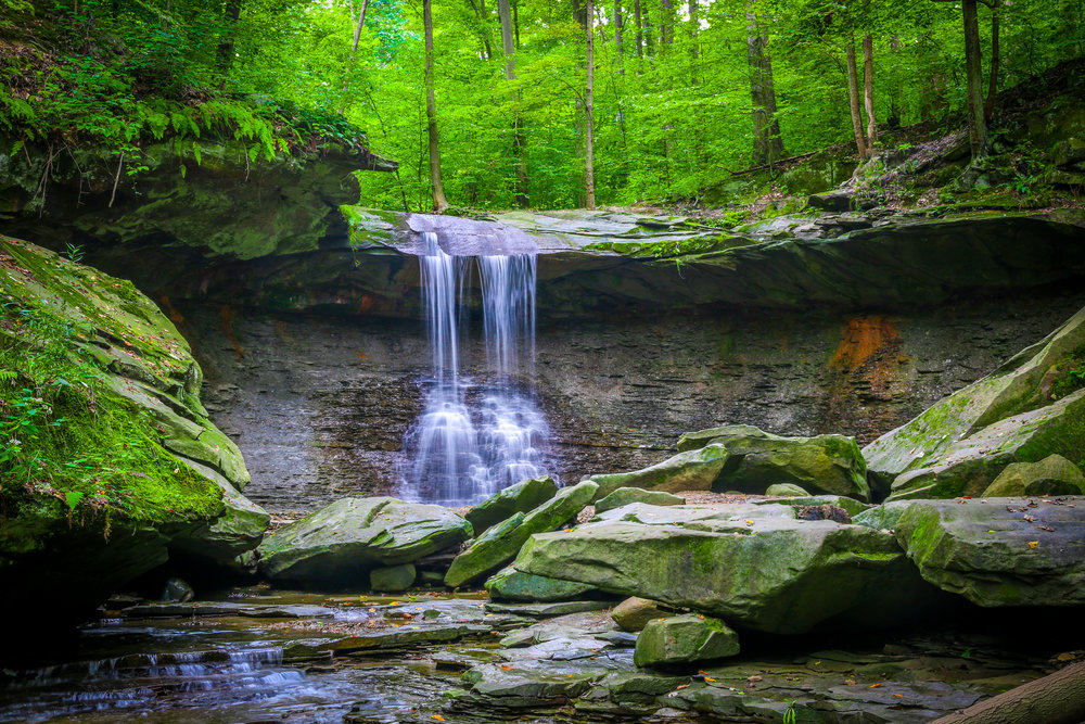 cuyahoga valley national park ohio oh nps blue hen falls