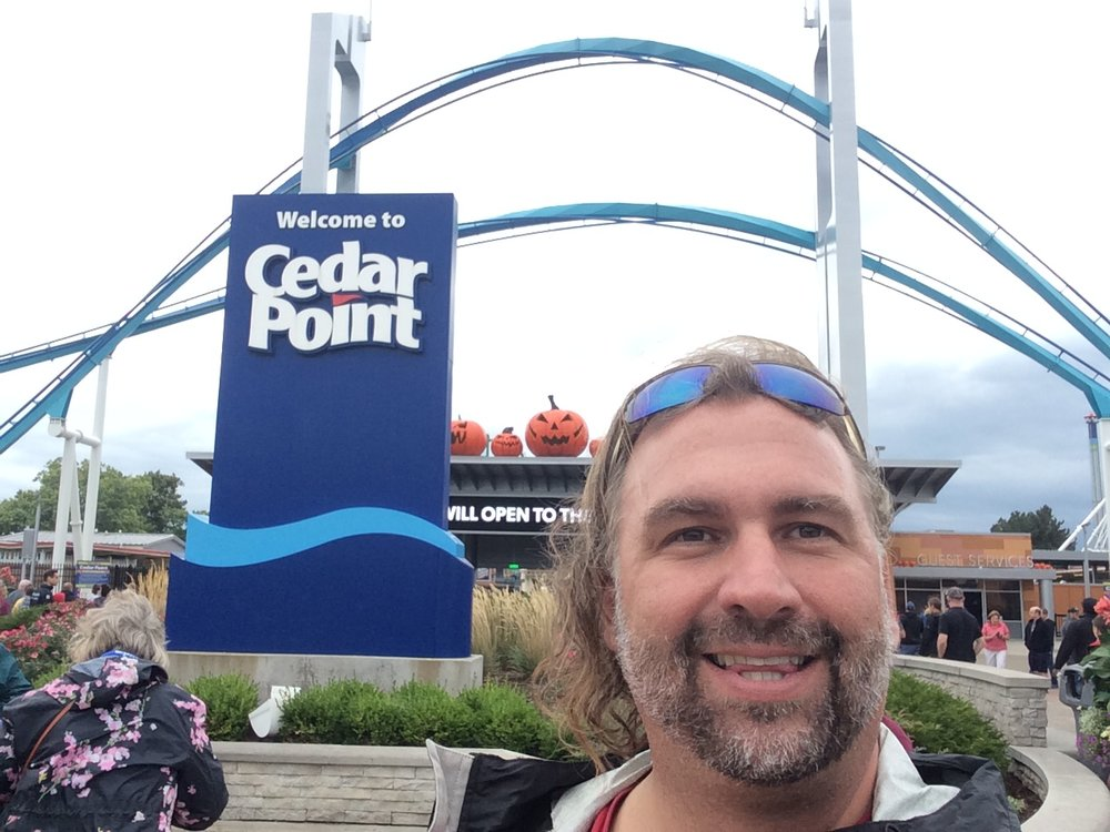 Me at Cedar Point
