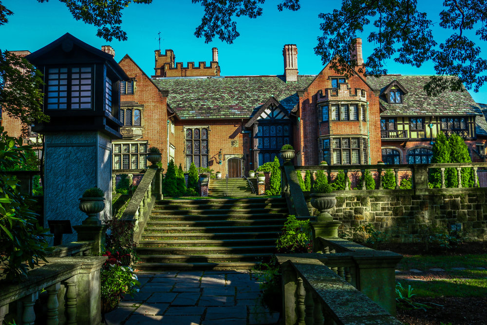 Stan Hywet Akron Ohio mansion OH outside