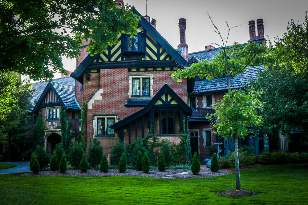 Stan Hywet Akron Ohio mansion OH