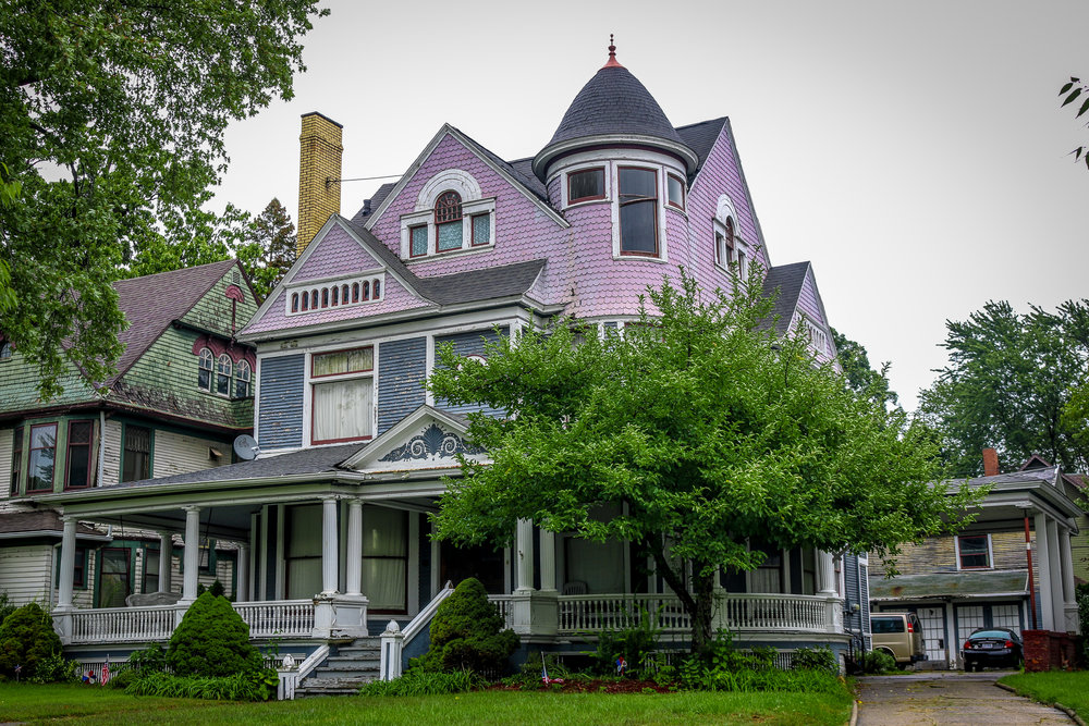 Toledo Ohio Victorian era home Old West End