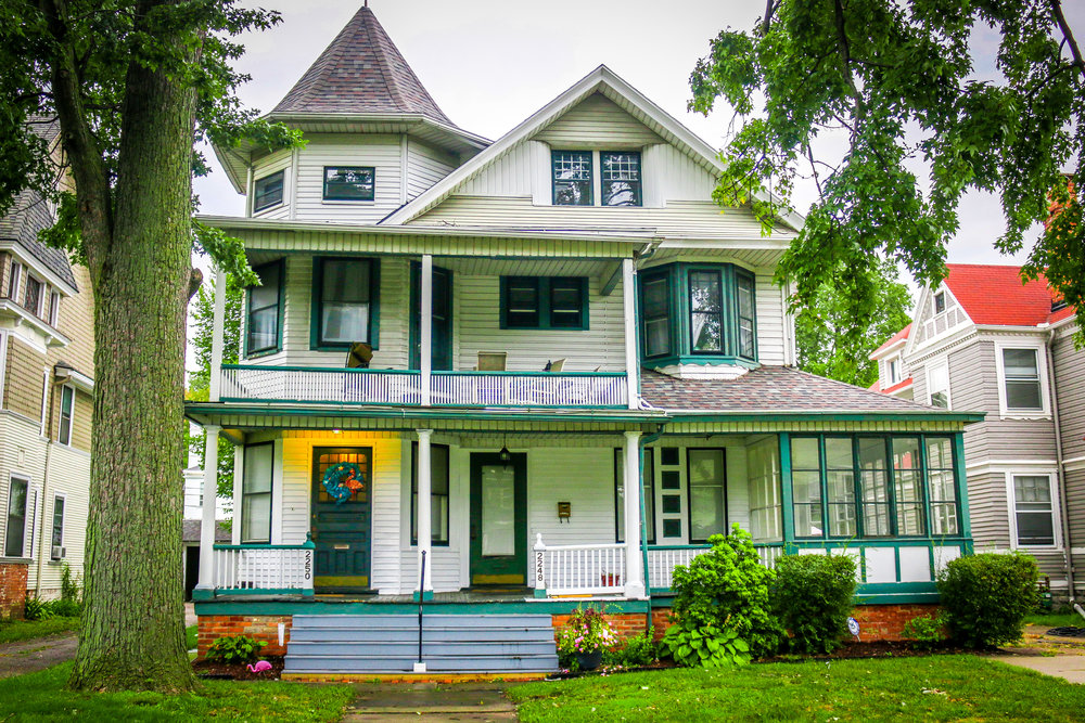 toledo ohio victorian homes old west end