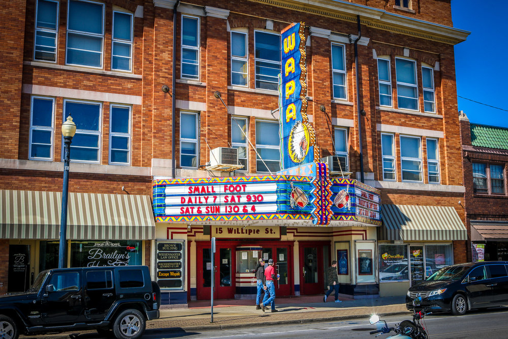 The Wapa Theater in Wapakoneta