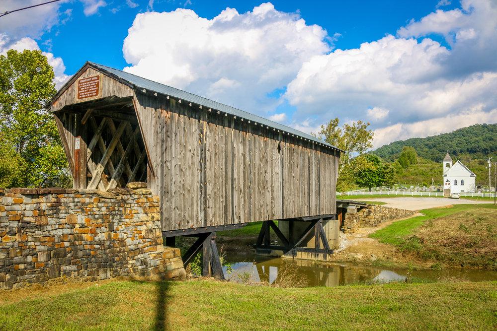 Goddard Bridge in Fleming County