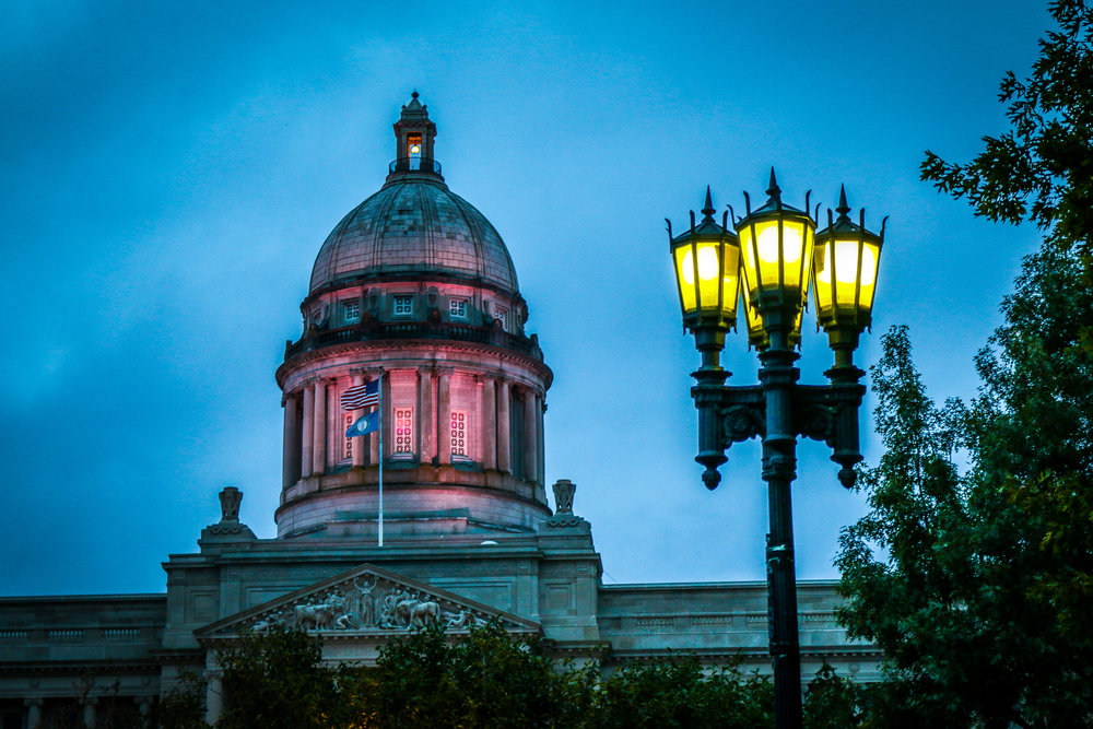 Capitol Rotunda at Night