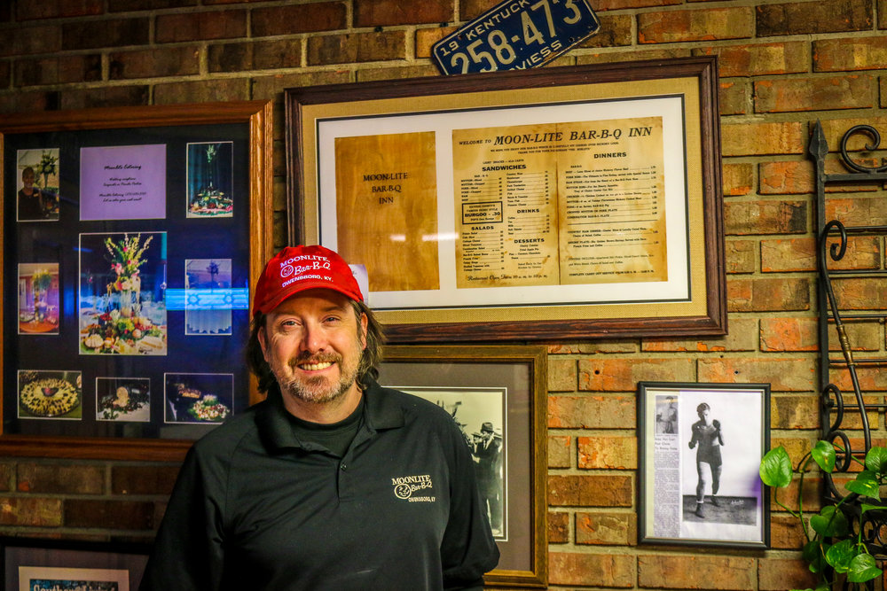 Jay With Pappy's Old Menu