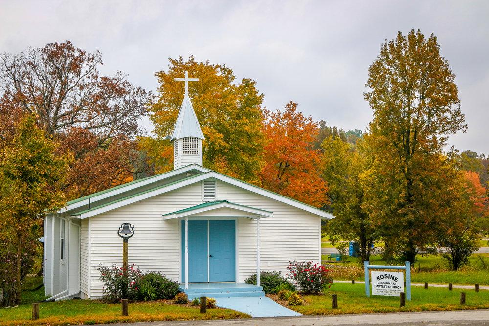Fall in Rosine Kentucky