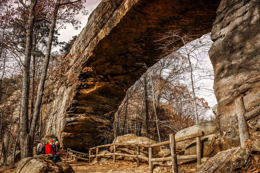 Natural Bridge Arch! So Cool!