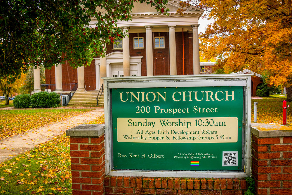 Union Church - All Are Welcome